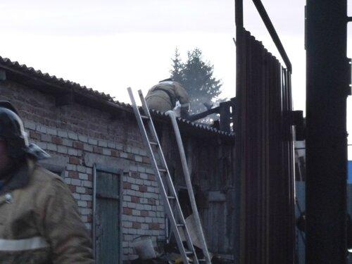 пожар на Кутузова в Куйбышеве