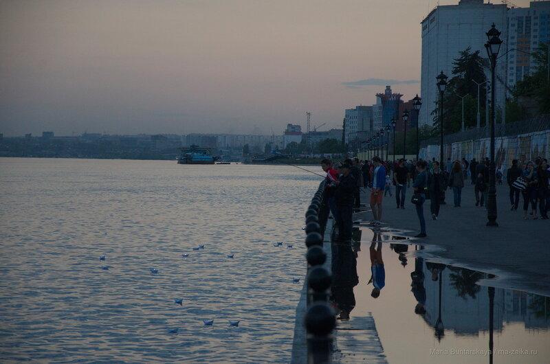 'Свеча Памяти', Саратов, Новая Набережная, 07 мая 2016 года