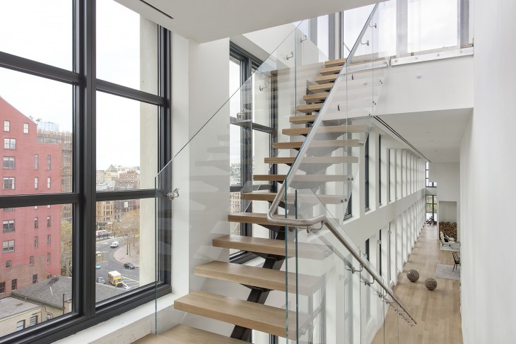 Penthouse in TriBeCa by AA Studio