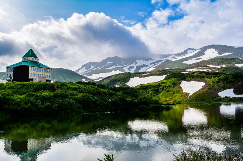 Дорога на Мутновский вулкан
