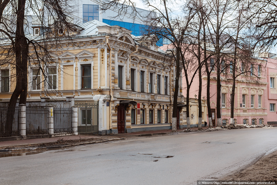 Улицы Нижнего Новгорода