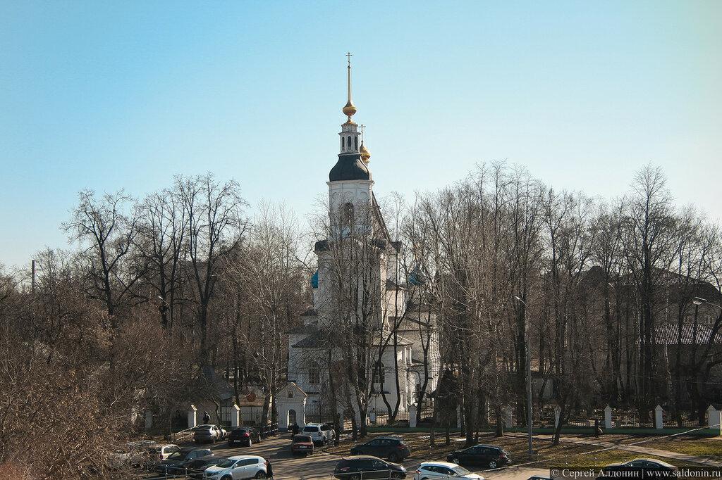 Храм Успения Пресвятой Богородицы в Вешняках