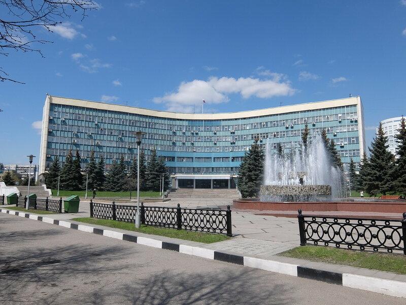 Новокузнецк - Здание городской администрации