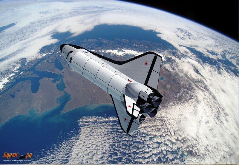 Буран - советский крылатый орбитальный корабль многоразового использования... (2).jpg