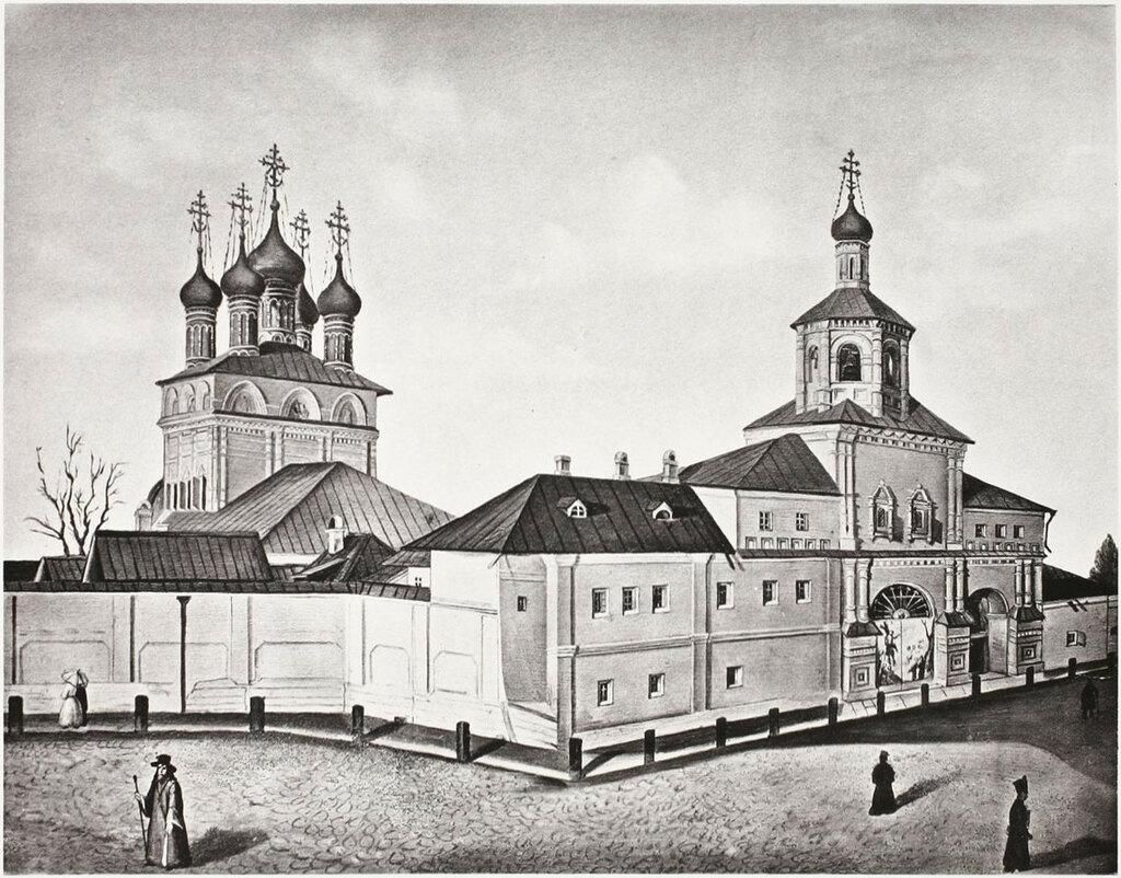 459920 Страстной монастырь 30-40 Неизвестный художник из Найдёнова.jpg