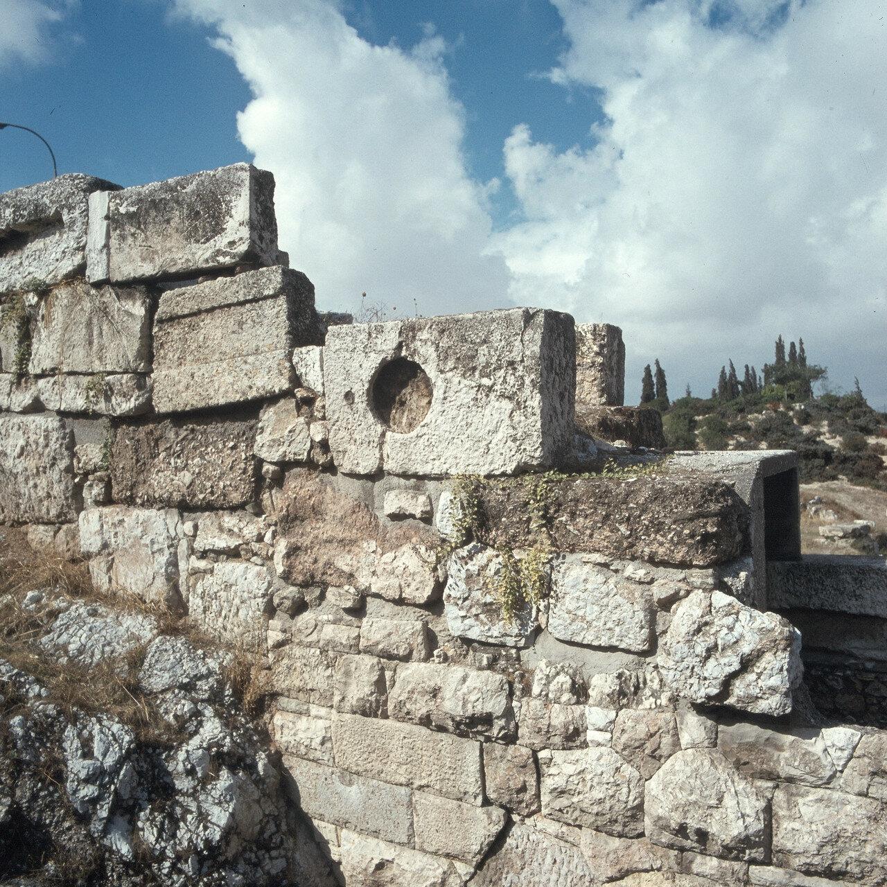 Афины. Керамейкос. Стены Фемистокла, 487-479 до н.э.