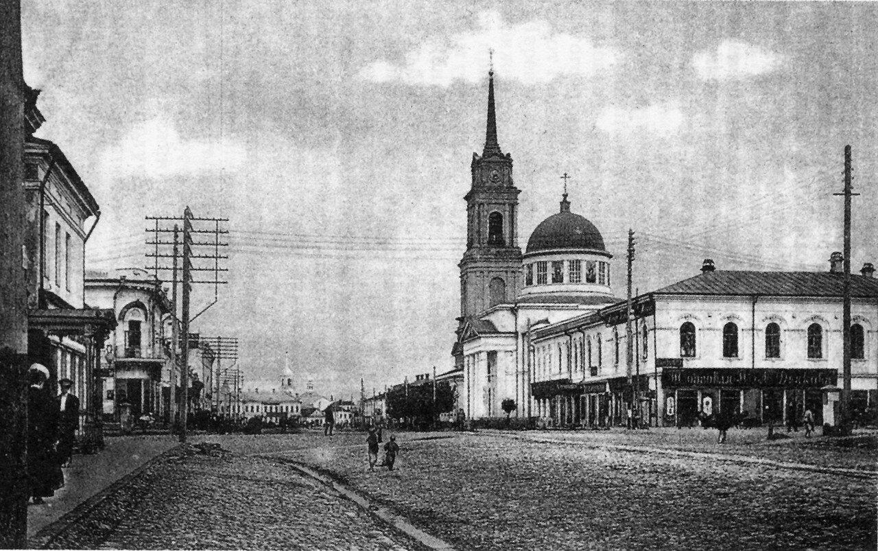 Посольская улица. Спасо-Преображенский храм