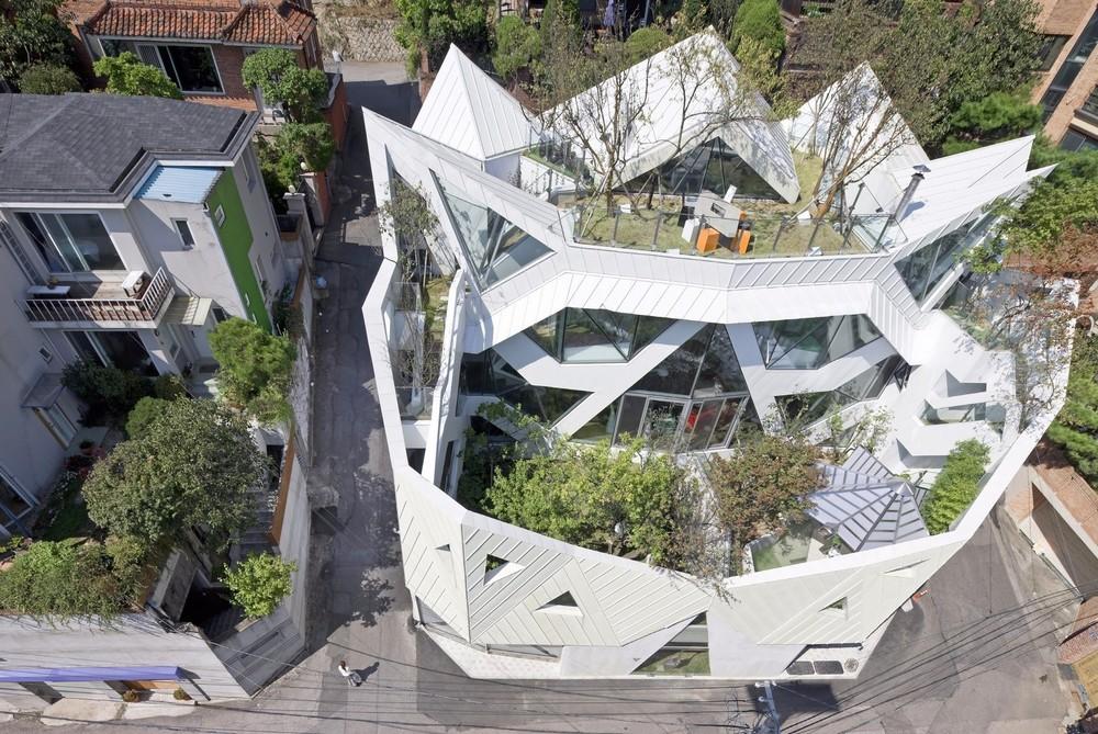 «Цветущий дом» в Сеуле