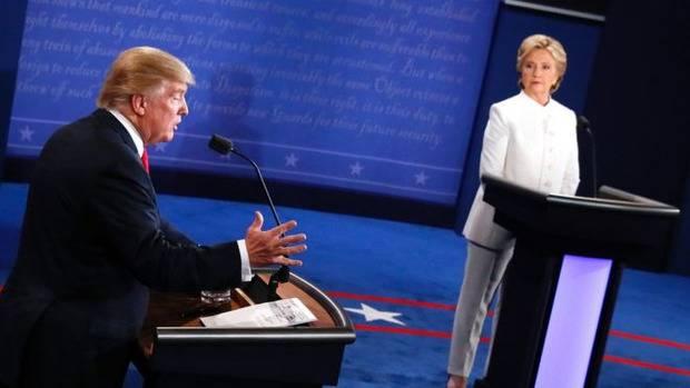 Третьи и последние теледебаты в США выиграла Хиллари Клинтон (видео)
