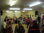 Воскресным вечером 5 февраля в Духовно-просветительском центре при Донском храме силами ансамблей Донская слободка и Курень была проведена традиционная праздничная Вечёра для прихожан. Гостями праздника стали дети из мытищинского приюта Преображение