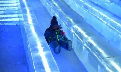 Ледяной город в Харбине на фестивале Снега и Льда