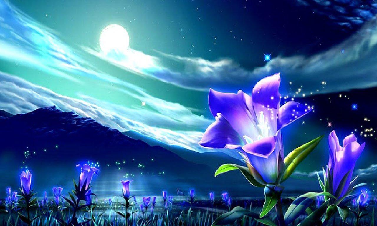 С праздником Ивана Купало! Ночные цветы открытки фото рисунки картинки поздравления