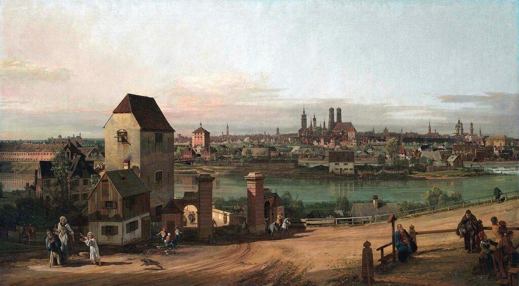 East of Munich, by Bernardo Bellotto