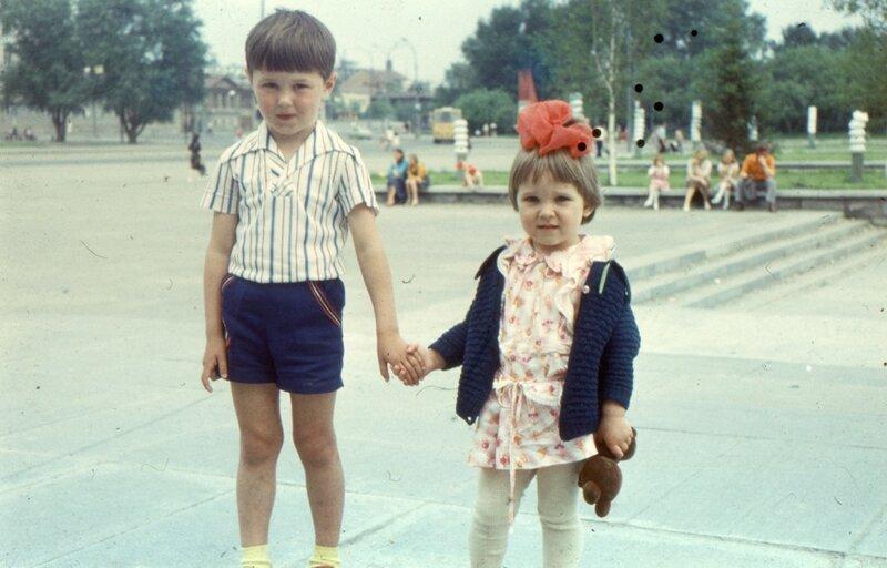 Свердловск, 1980 г. Около цирка.
