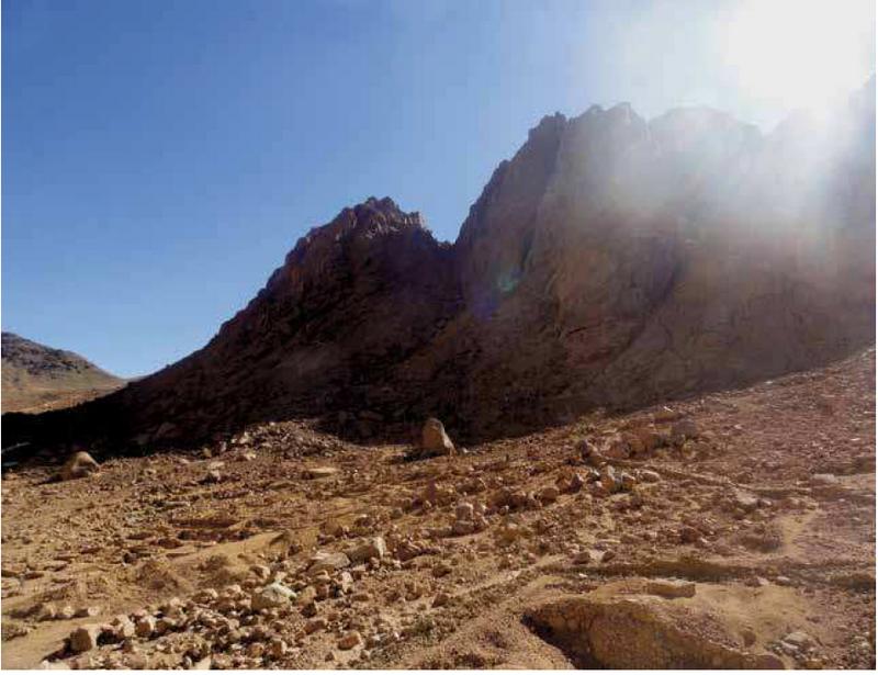 3. Облако Света. Подступы к горе Хорив (фото А. Лидова)