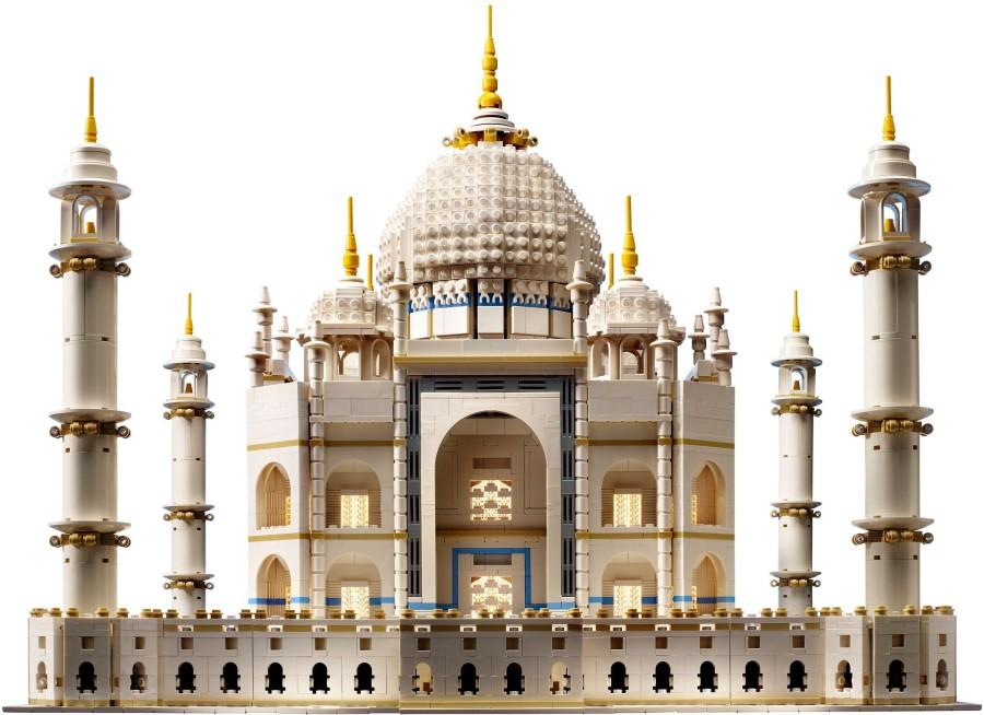 1. Тадж-Махал Эта великолепная модель индийского дворца состоит из 5922 деталей конструктора Lego. С