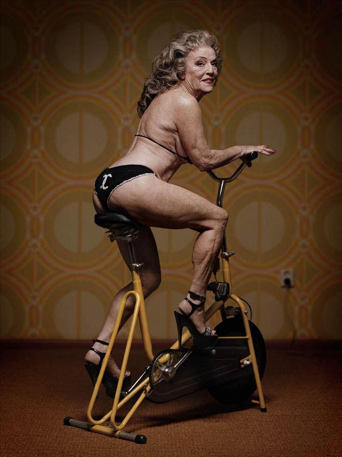Провокационная фотосерия Mature от скандального Эрвина Олафа
