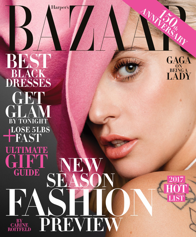 Леди Гага в Harper's Bazaar