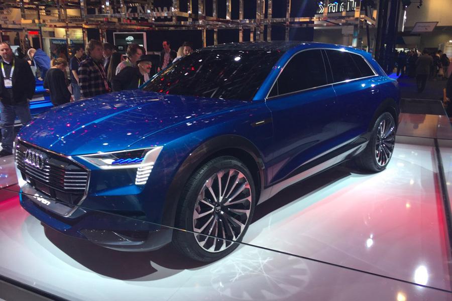 Audi запустит в производство свой первый электрический внедорожник к 2018 году. Новая машина вдохнов