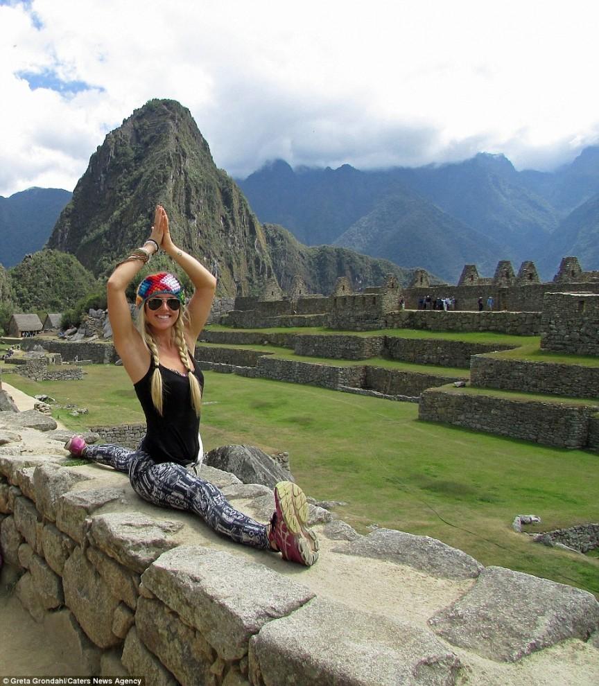 Больше всего Грете понравилось преподавать йогу в городе Санта Тереса в Коста-Рике и на острове Кауа