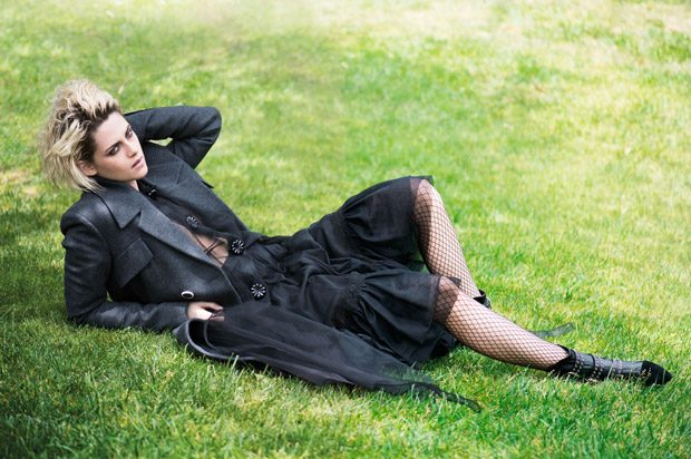 Kristen Stewart in Icon Of Change for Elle UK September 2016 Issue