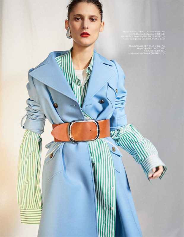 See more of the the cover story on our BEAUTYSCENE.NET L'Officiel Mexico's editor in chief: Pamela O