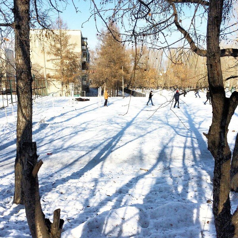 Зимний северок