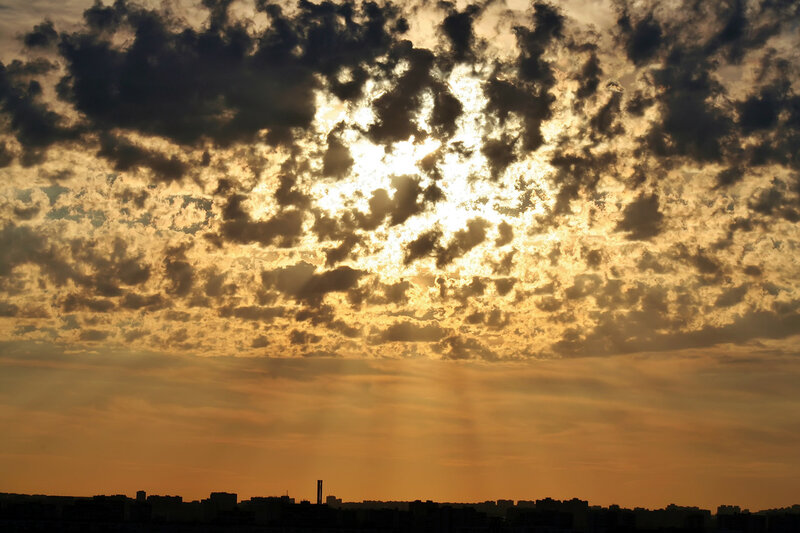 Небо над Москвой