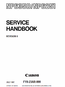 Инструкции (Service Manual, UM, PC) фирмы Canon - Страница 3 0_1b18c3_3829e2ac_orig