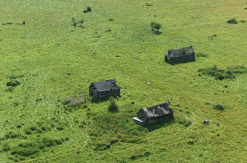 Заброшенная деревня в Ярославской области