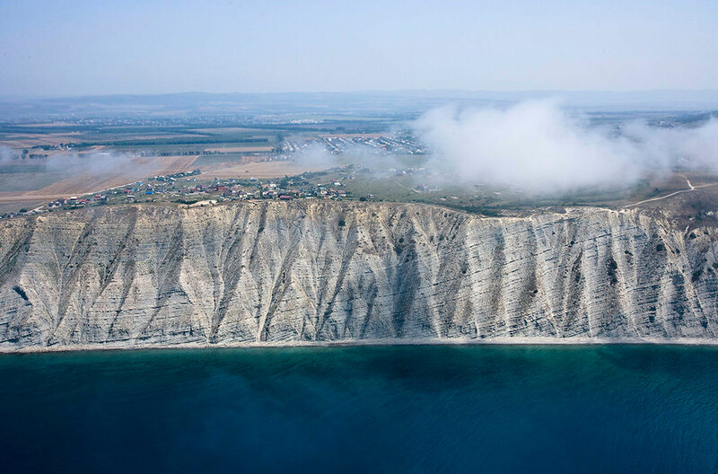 Берег Черного моря. Краснодарский край
