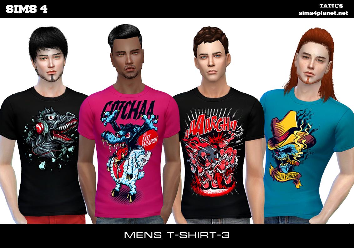 Tatius.Mens T-Shirt-3