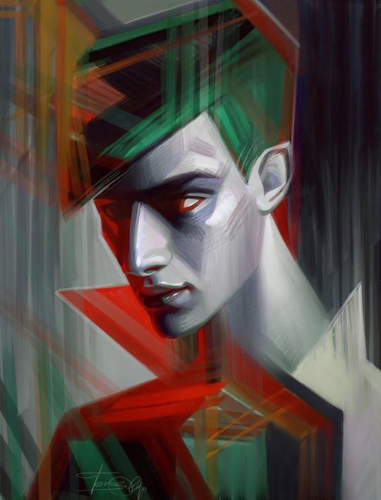 Amazing Portraits by Olga Tereshenko