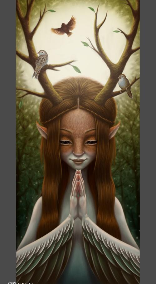 Epic Digital Illustrations by Jezabel Rodrigo Yusta