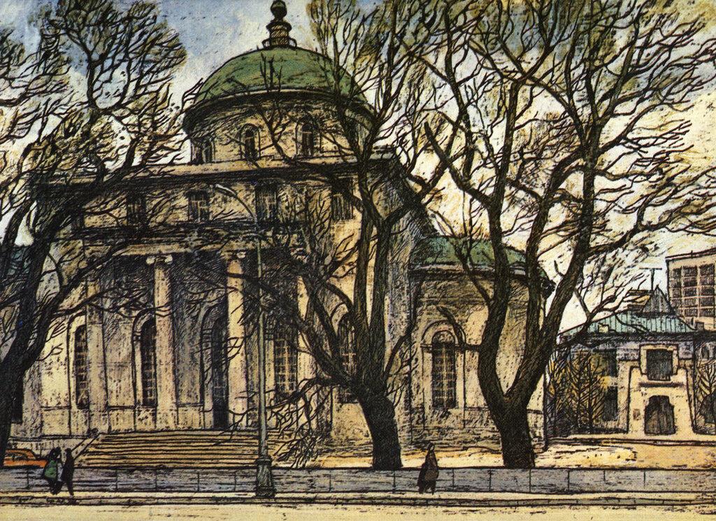 587132 Никитские ворота. Бывшая церковь Большого Вознесения.jpg