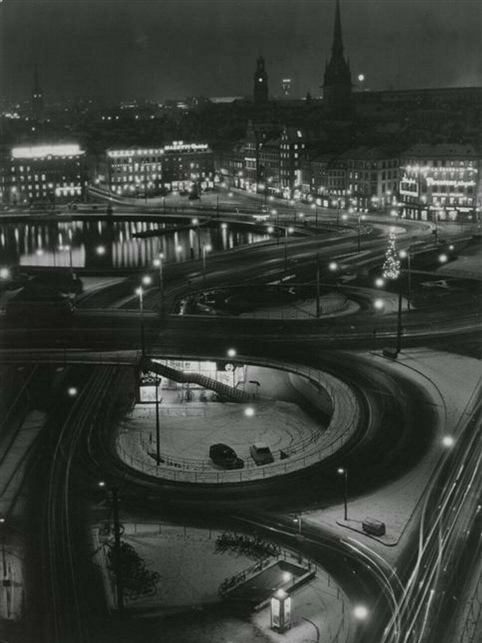 1955. Стокгольм ночью