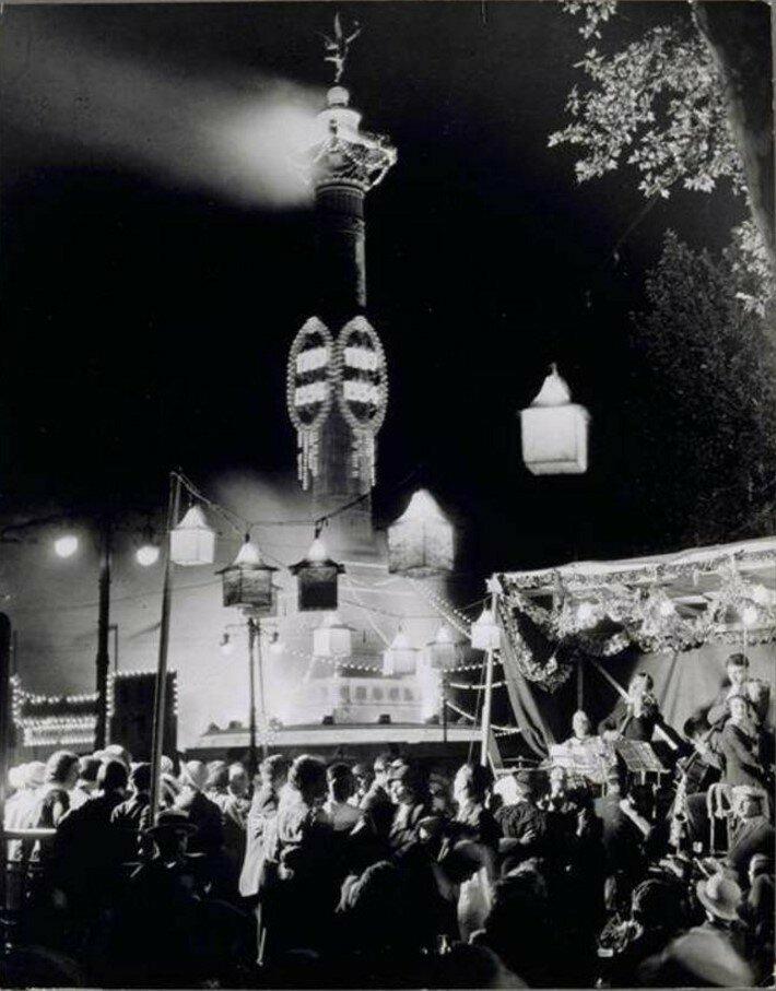 1934. 14 июля, площадь Бастилии