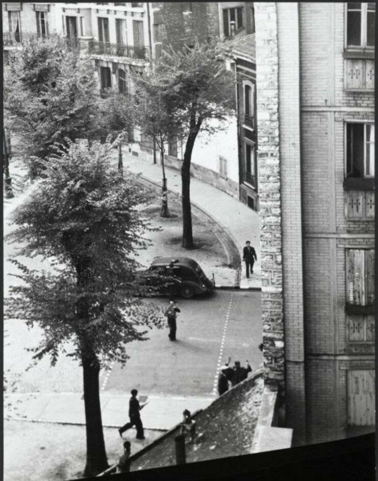 1944. Между площадью Сен-Жак и бульваром Араго