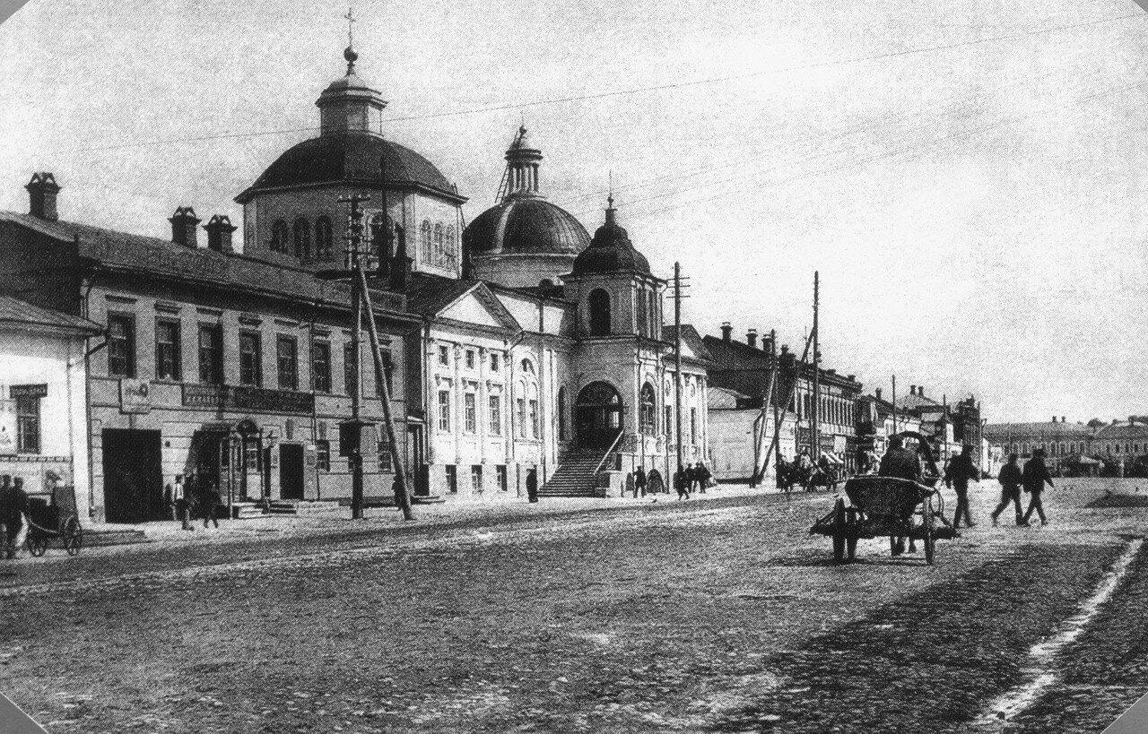 Посольская улица.  Николочасовенская церковь