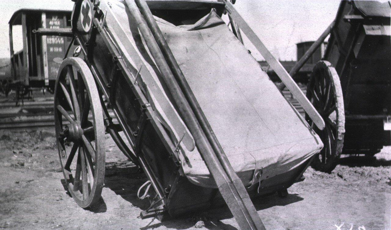 Санитарная телега в Гангалине