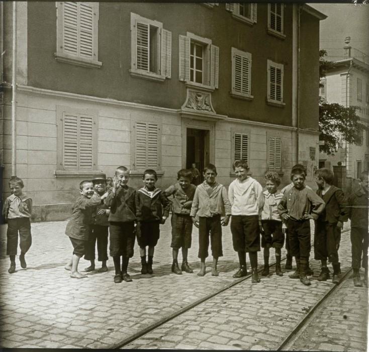 1907. Школьники. Швейцария, Альтдорф