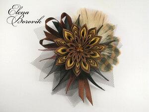 Прекрасные цветы канзаши 0_8da39_a08bc063_M