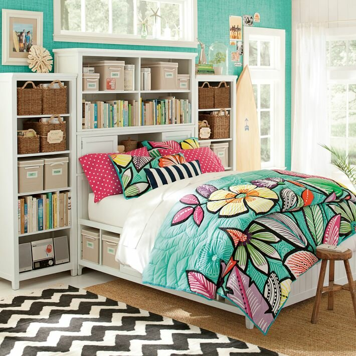 Cute room designs for teenage girls
