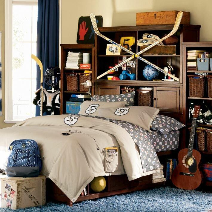 Детская комната мальчик подросток фото