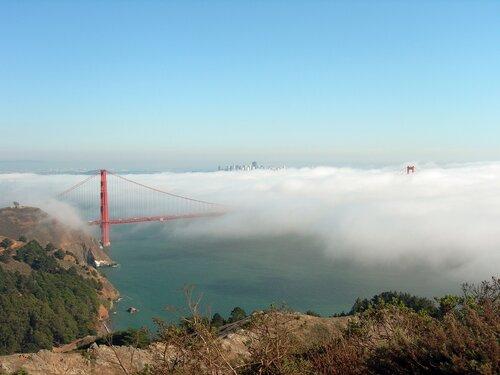 Сан-Франциско. На разных берегах пролива Золотые Ворота.