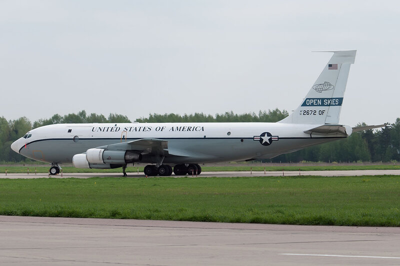 Boeing OC-135B (717-158) 61-2672/OF USA - Air Force DSC9835