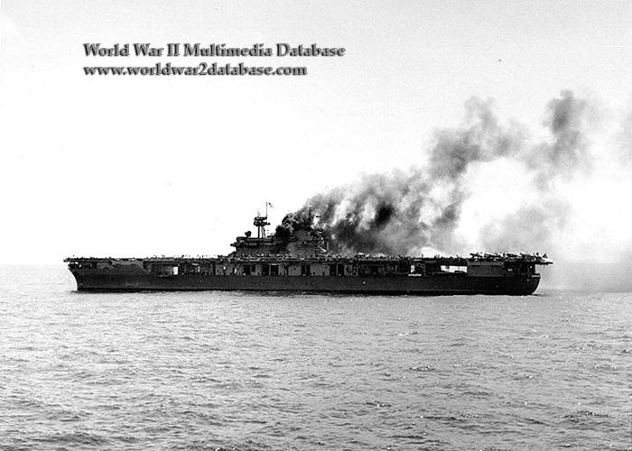 USS Yorktown (CV-5) Makes Repairs