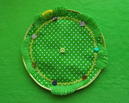 Развивающие игрушки своими руками... развивающий коврик для детей ~ Цветочные фантазии
