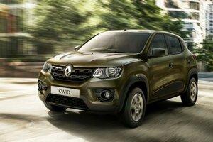 Хэтчбек Renault KWID не получит шильдик Dacia