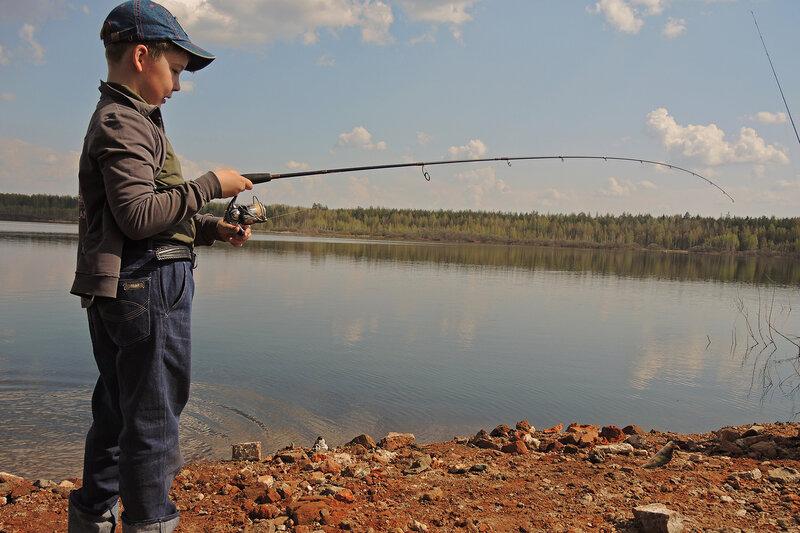 Рыбалка под «Серебряным дождем»